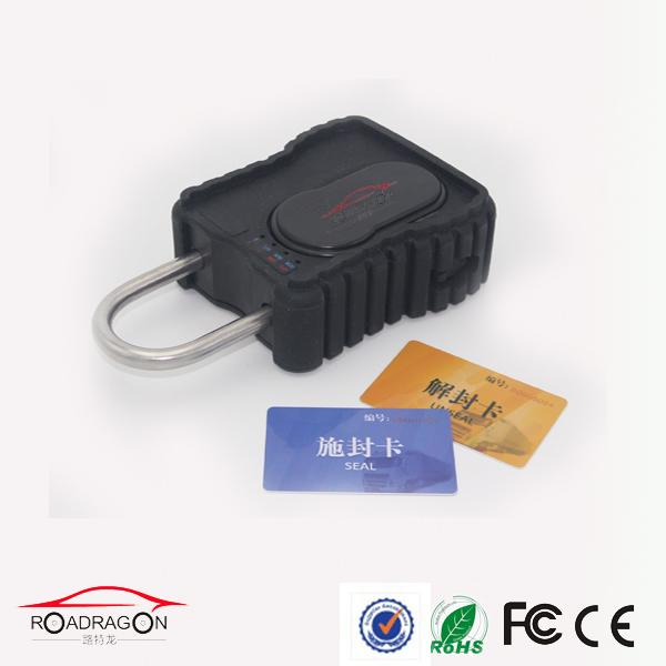 Long Lasting Battery GPS Container Lock Cargo NFC RFID Opening Light Sensor