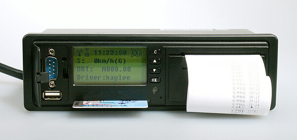 Satellite Fleet Management Electronic Tachograph CAN Bus Acquisition LED Meter