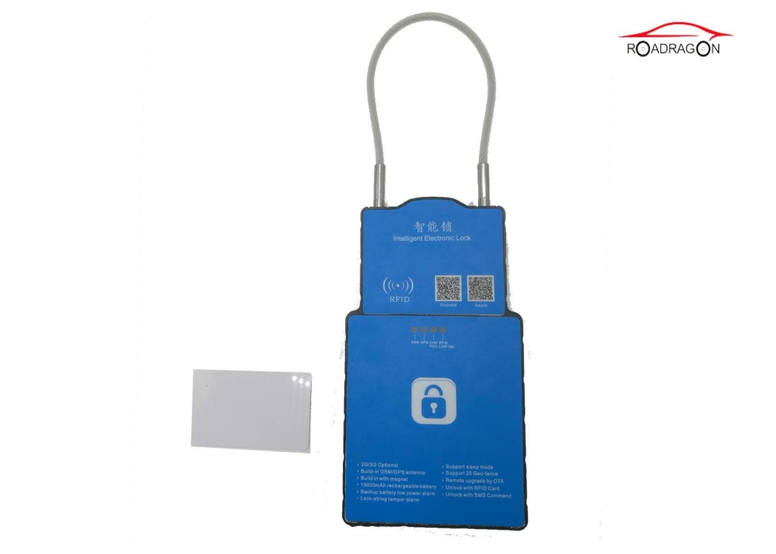 Tamper Proof Alarm High Security Padlocks For Containers Intelligent System