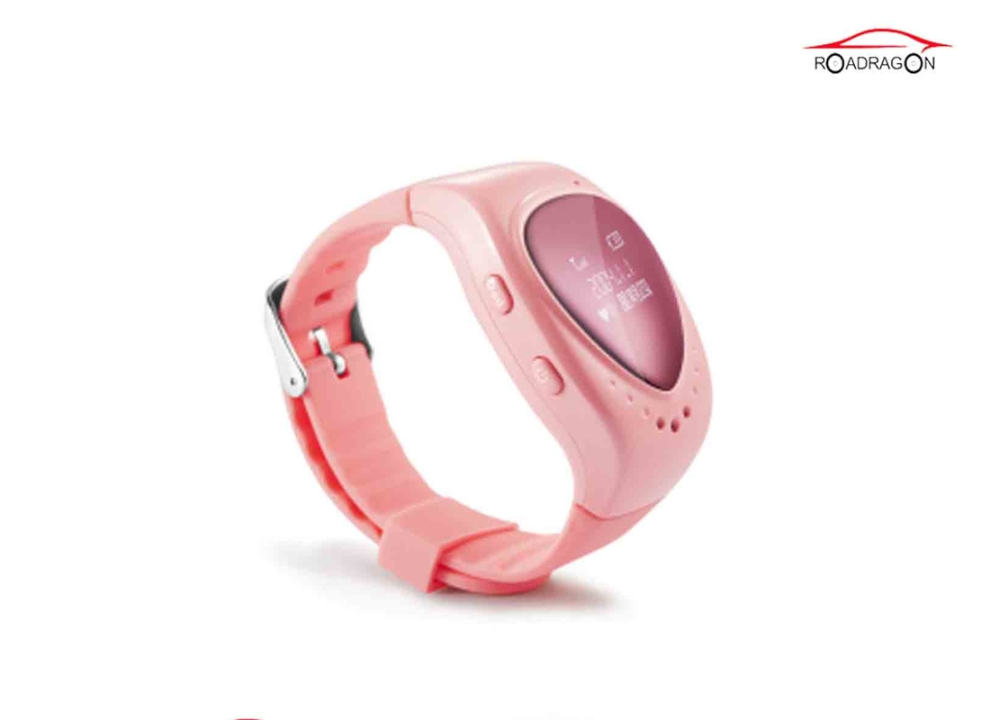 Smart GPS Locator Watch , GSM Wifi Positioning GPS Tracking Watch For Elderly