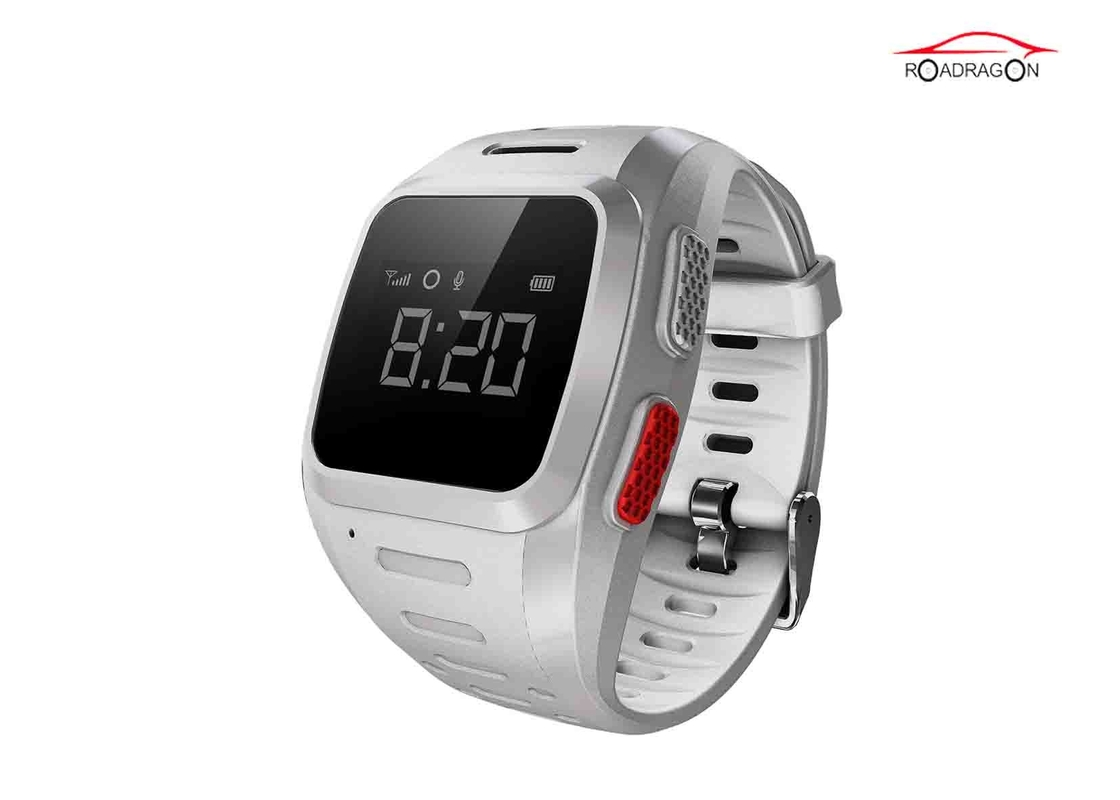Analog GPS Tracker Watch Latitude Longitude Geo Tech Positioning Voice Chat For Person