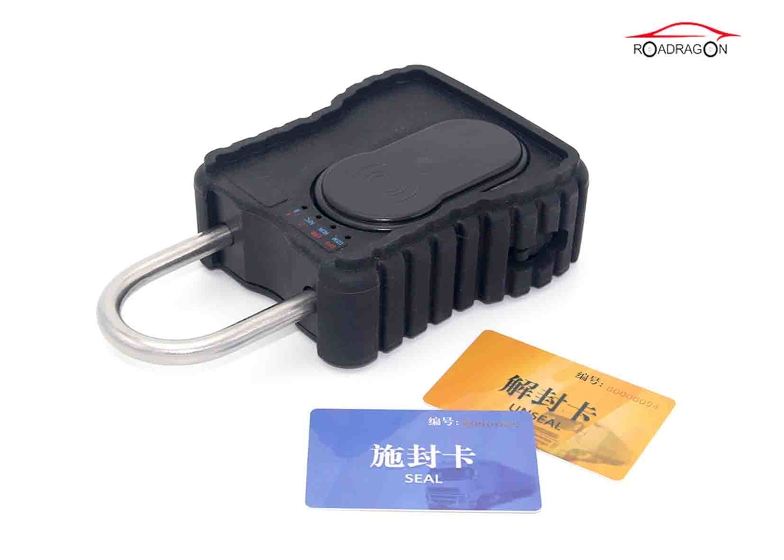 Realtime Security GPS Tracking Padlock , GPRS Container Tracker GSM Padlock