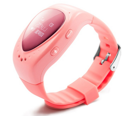 Waterproof GPS GSM Wrist Watch Mobile Portable For Kids Safety