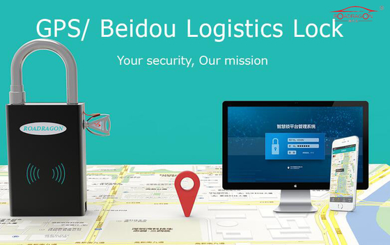 gps smart lock GLL-110 for container trailer remote monitoring real-time tracking