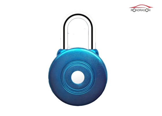 China Logistic Transportation Remote Control Padlock Collision Sensor Button Press Open factory