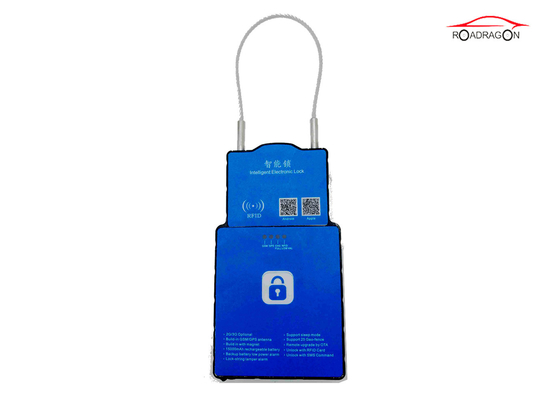 China GPRS SMS Platform Wifi Controlled Padlock Logistic Transportation Management factory