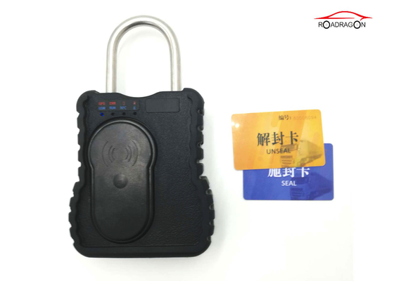 China Van Truck Logistic Security Remote Padlock Low Power Alarm With APP Platform factory